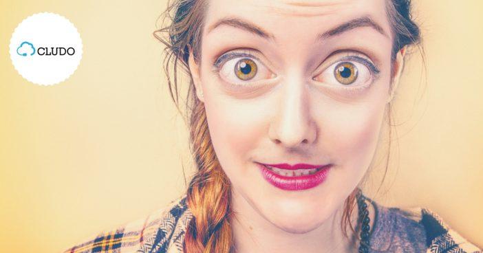 oczy szeroko otwarte na oprogramowanie dla telemarketerów